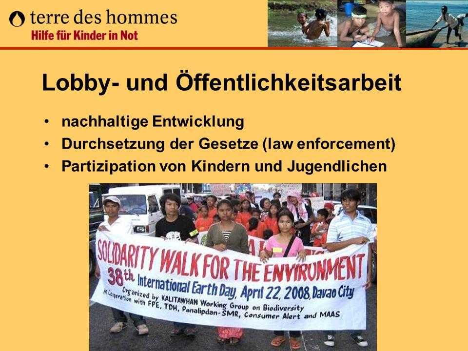Lobby- und Öffentlichkeitsarbeit