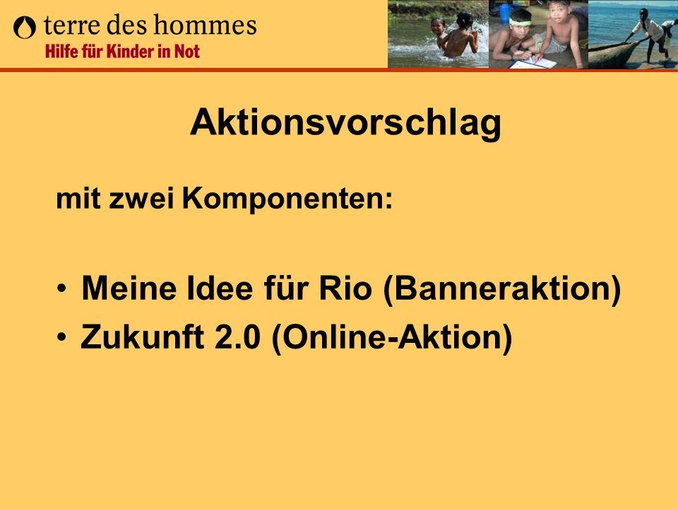 Aktionsvorschlag Meine Idee für Rio (Banneraktion)