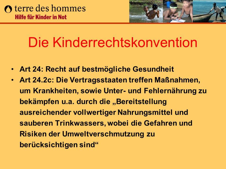 Die Kinderrechtskonvention