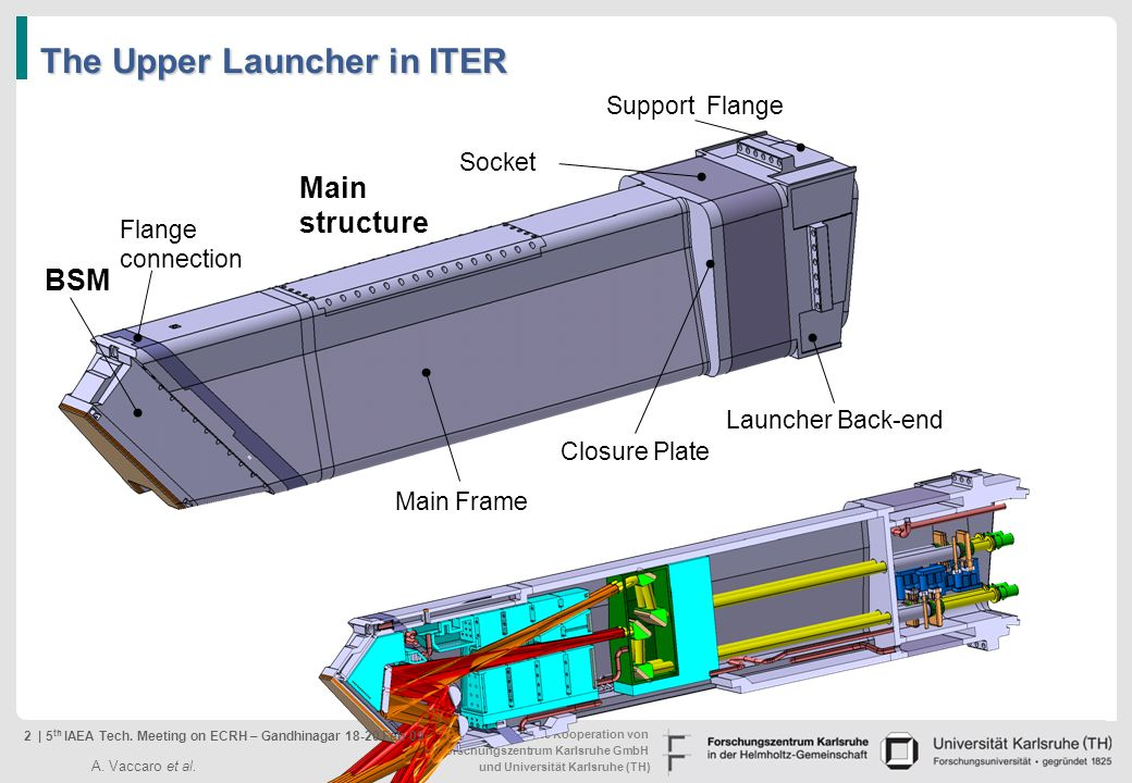 The Upper Launcher in ITER