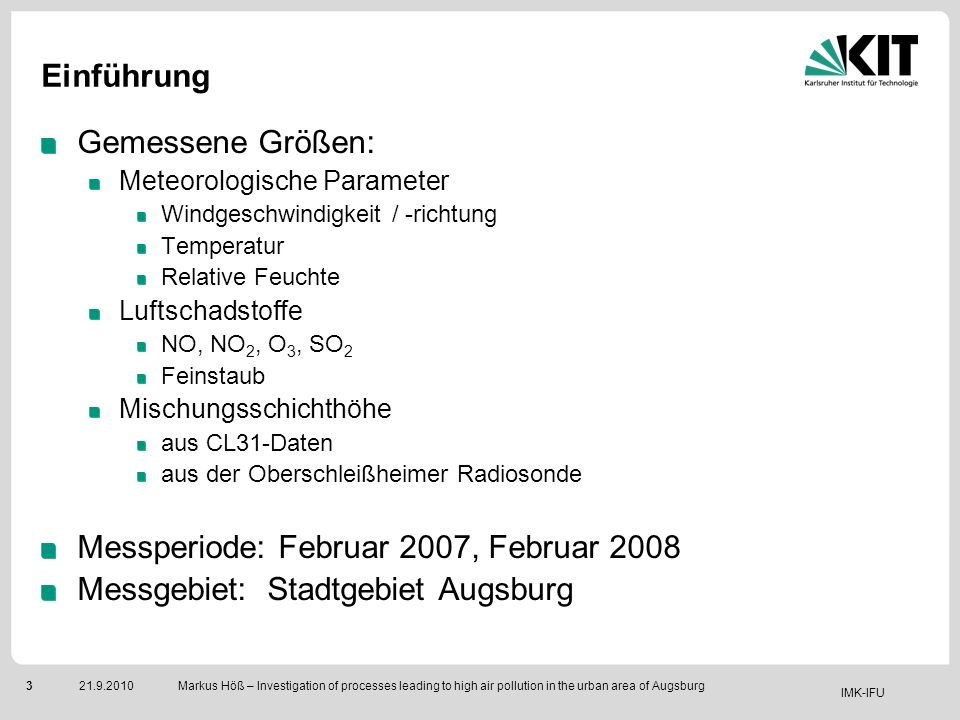 Messperiode: Februar 2007, Februar 2008