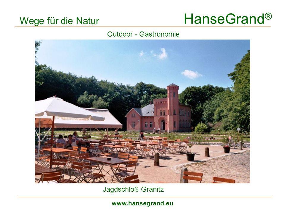 HanseGrand® Wege für die Natur Outdoor - Gastronomie