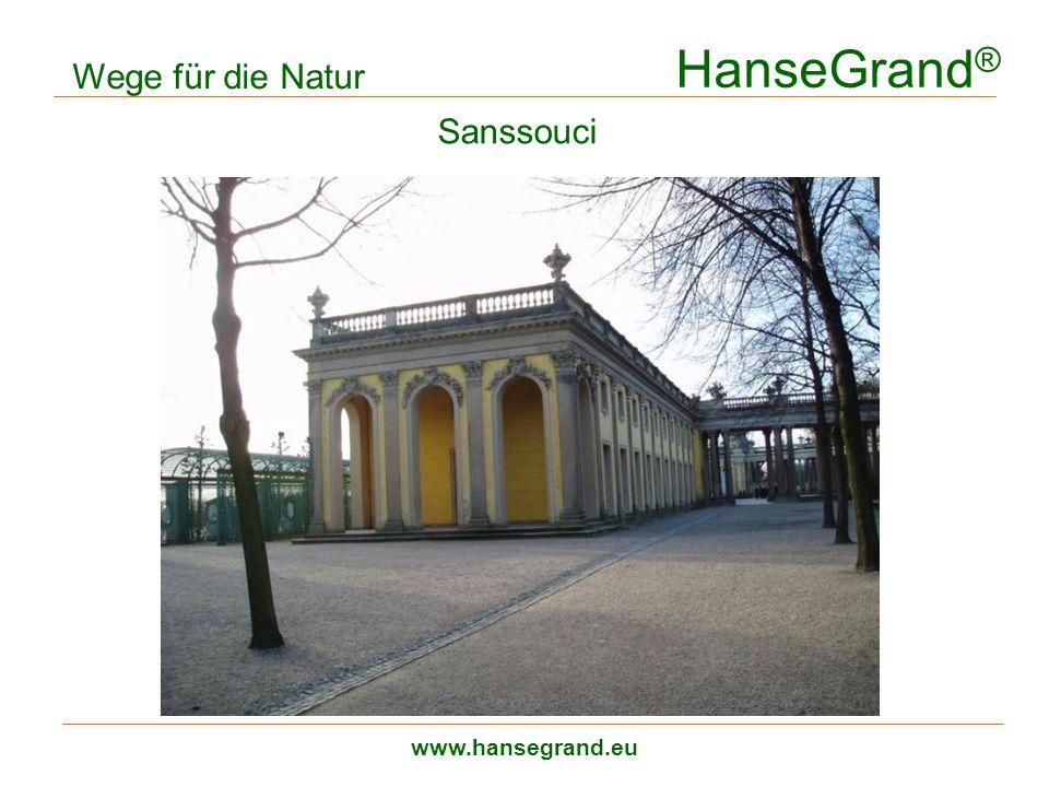 HanseGrand® Wege für die Natur Sanssouci zweilagiger Aufbau