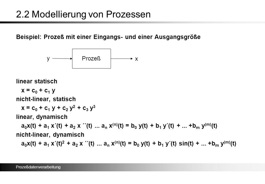 2.2 Modellierung von Prozessen