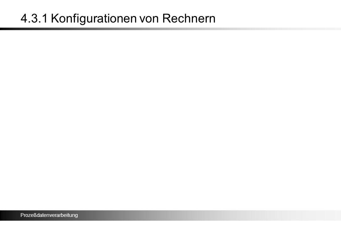 4.3.1 Konfigurationen von Rechnern