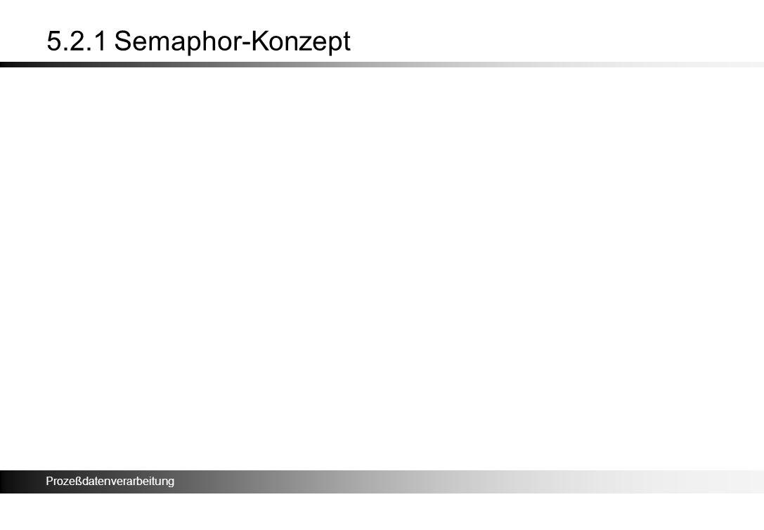 5.2.1 Semaphor-Konzept