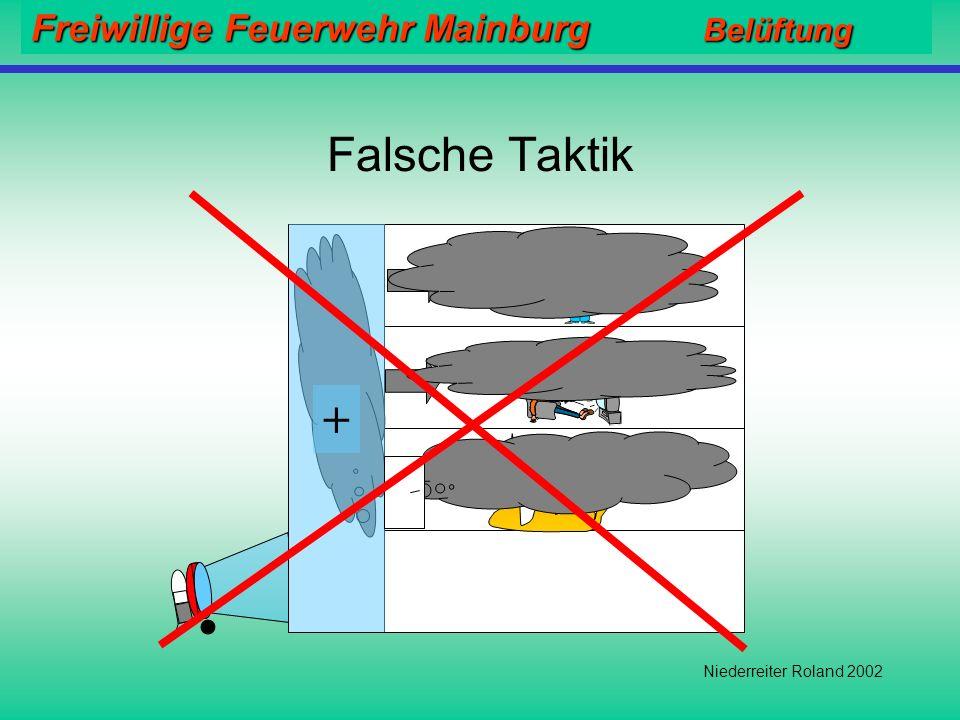 Falsche Taktik + Niederreiter Roland 2002