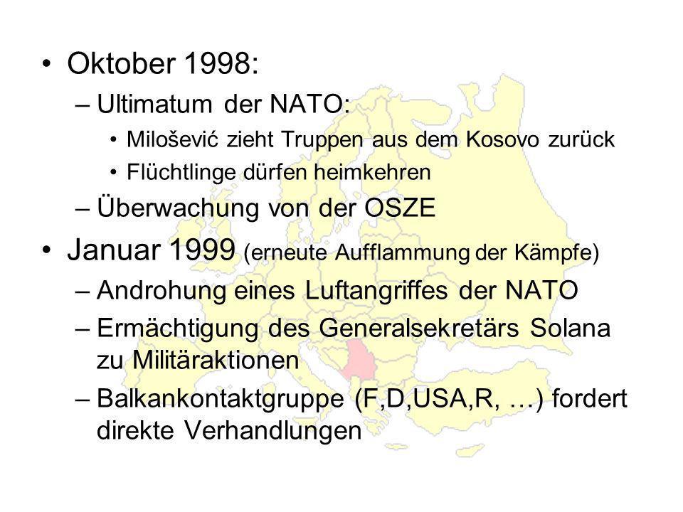 Januar 1999 (erneute Aufflammung der Kämpfe)