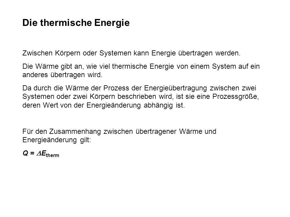 Die thermische Energie