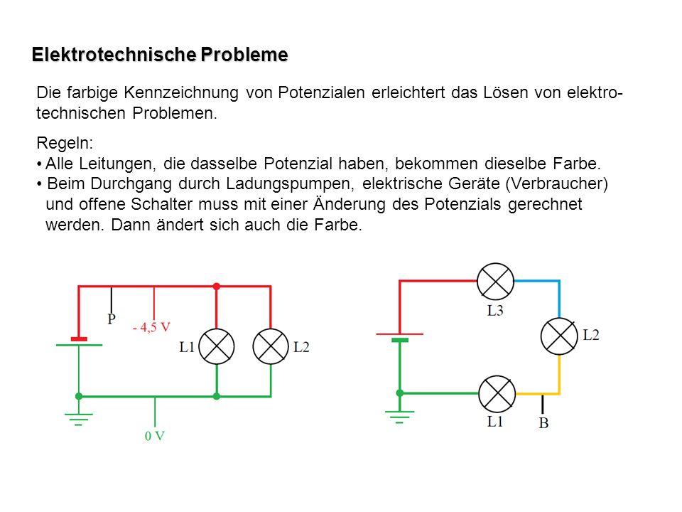 Elektrotechnische Probleme
