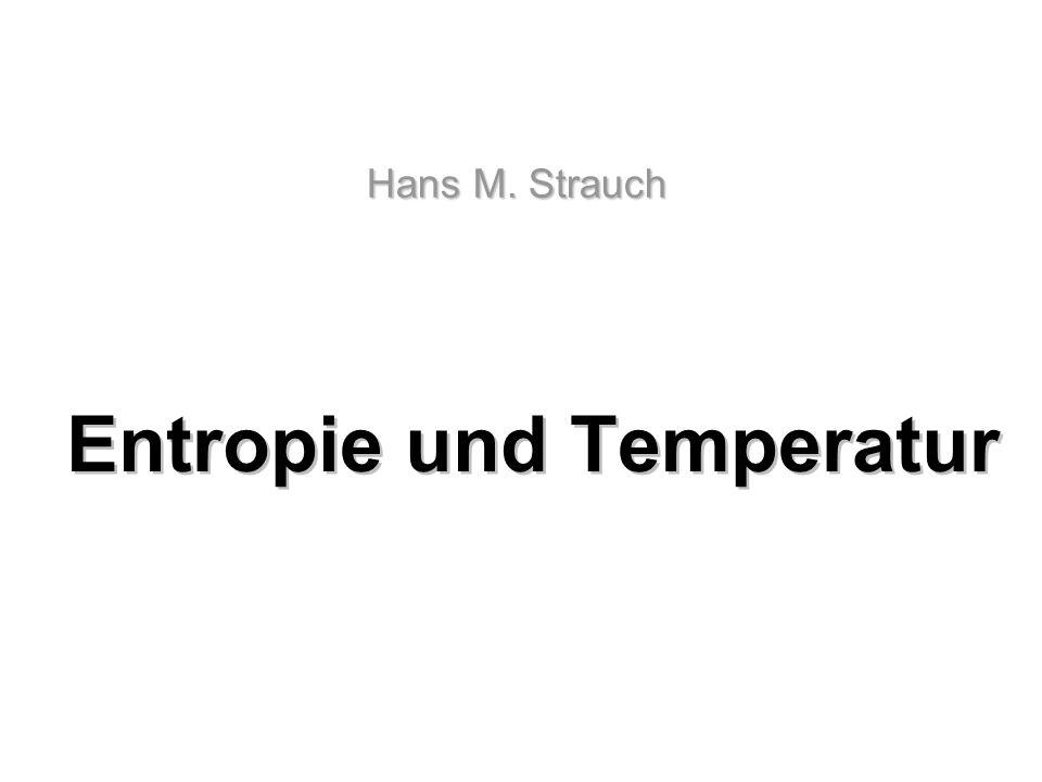 Entropie und Temperatur