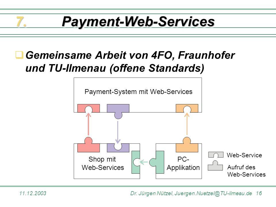 Payment-Web-Services