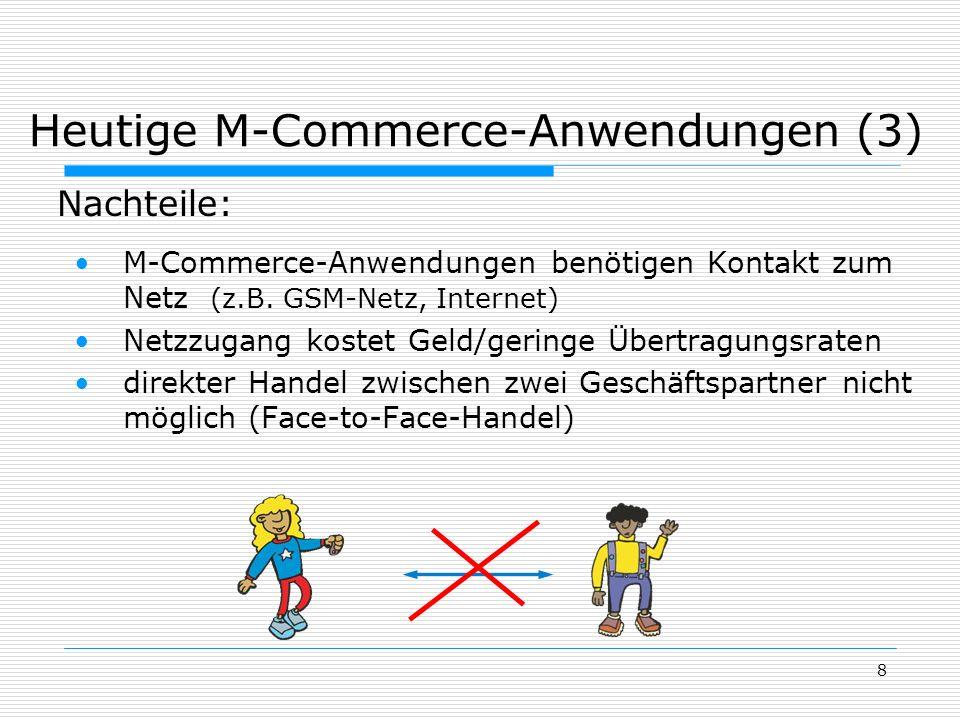 Heutige M-Commerce-Anwendungen (3)