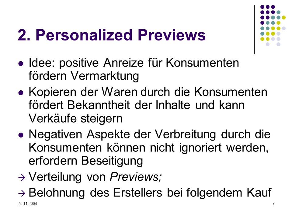 2. Personalized Previews