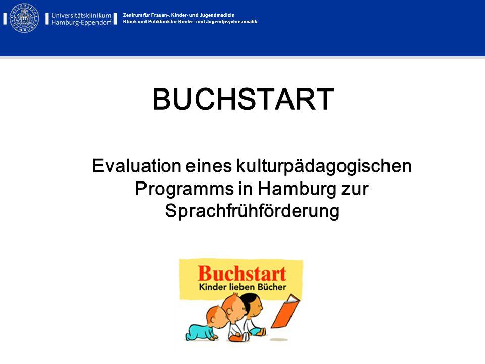 BUCHSTART Evaluation eines kulturpädagogischen Programms in Hamburg zur Sprachfrühförderung