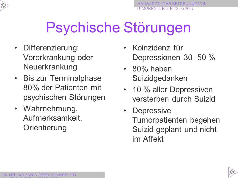 Psychische Störungen Differenzierung: Vorerkrankung oder Neuerkrankung