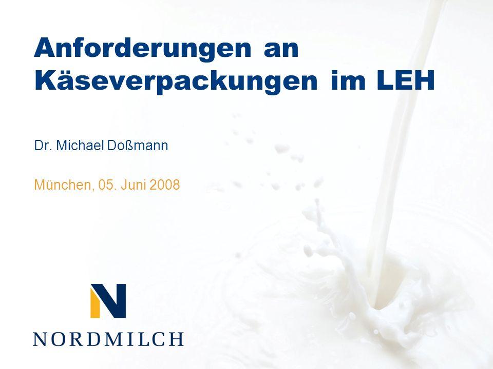 Anforderungen an Käseverpackungen im LEH