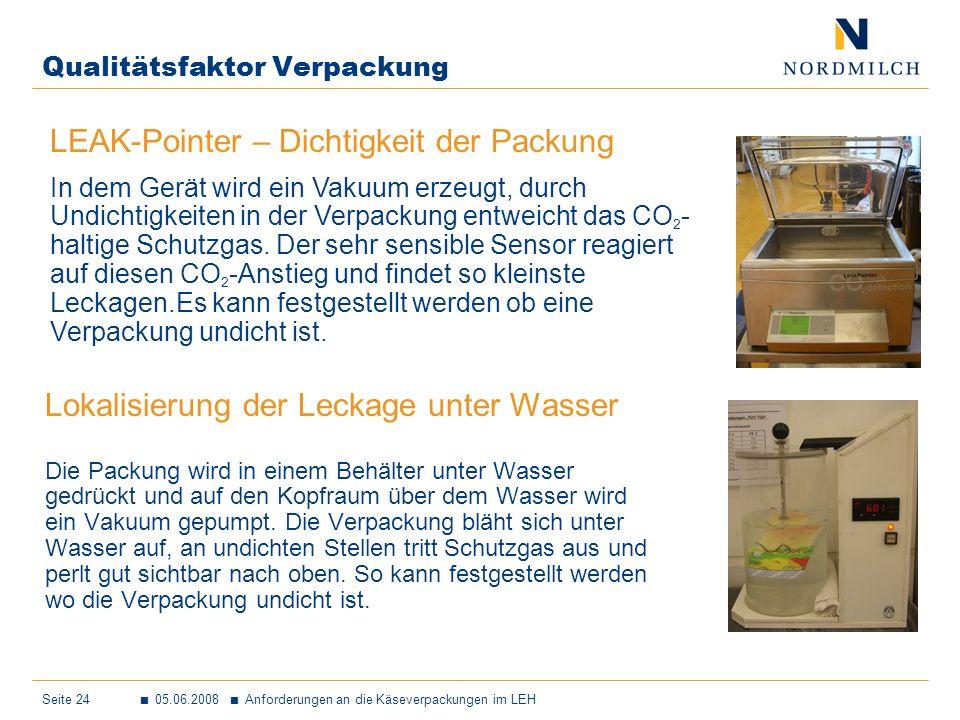 Qualitätsfaktor Verpackung