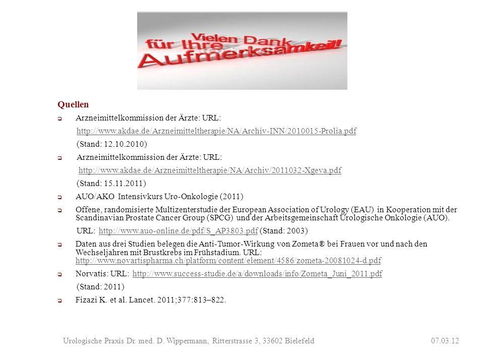Quellen Arzneimittelkommission der Ärzte: URL: