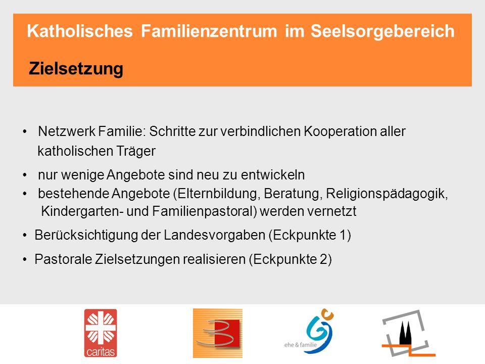 Katholisches Familienzentrum im Seelsorgebereich Zielsetzung