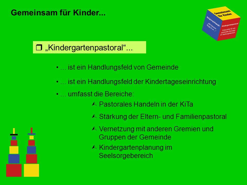 """Kindergartenpastoral ..."