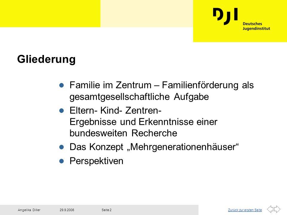 27.03.2017Gliederung. Familie im Zentrum – Familienförderung als gesamtgesellschaftliche Aufgabe.