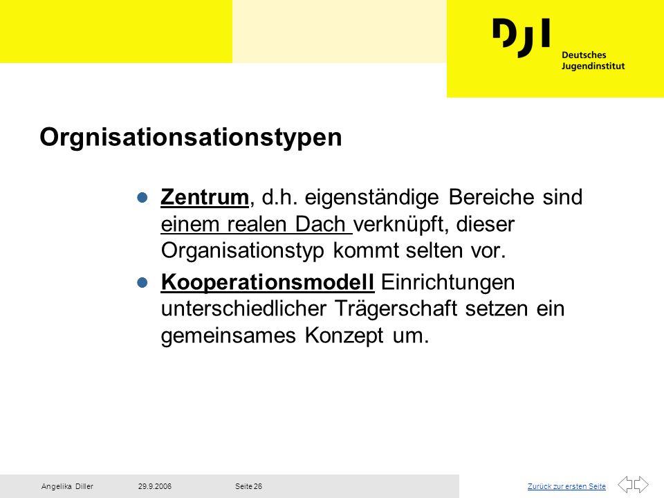 Orgnisationsationstypen