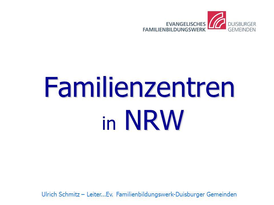 Familienzentren in NRW