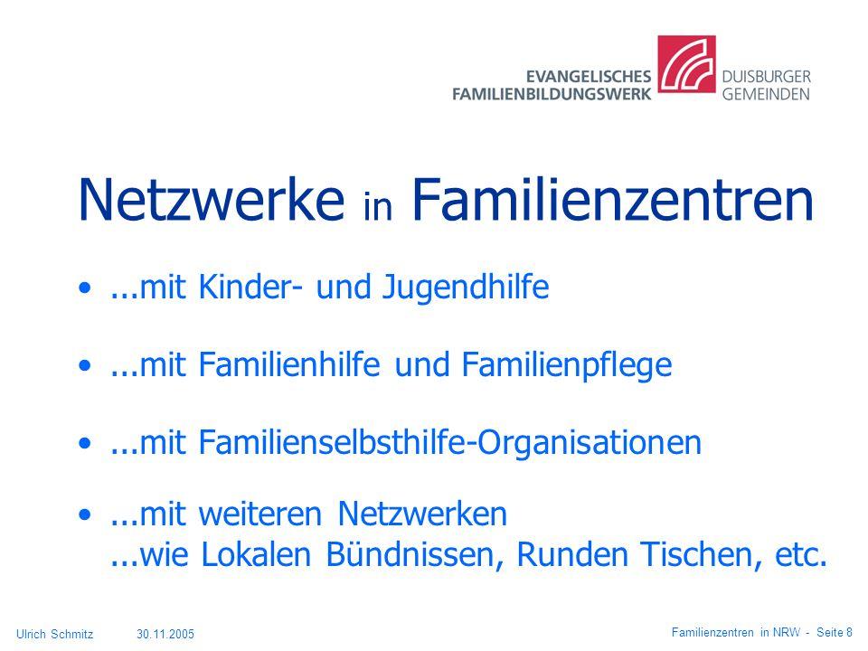 Netzwerke in Familienzentren