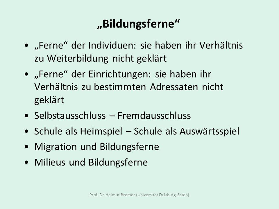 Prof. Dr. Helmut Bremer (Universität Duisburg-Essen)