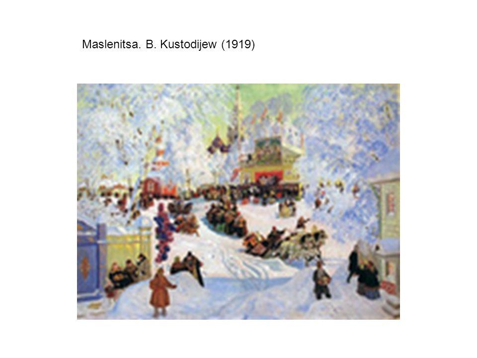 Maslenitsa. B. Kustodijew (1919)