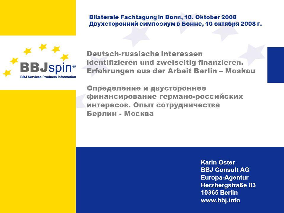 Erfahrungen aus der Arbeit Berlin – Moskau
