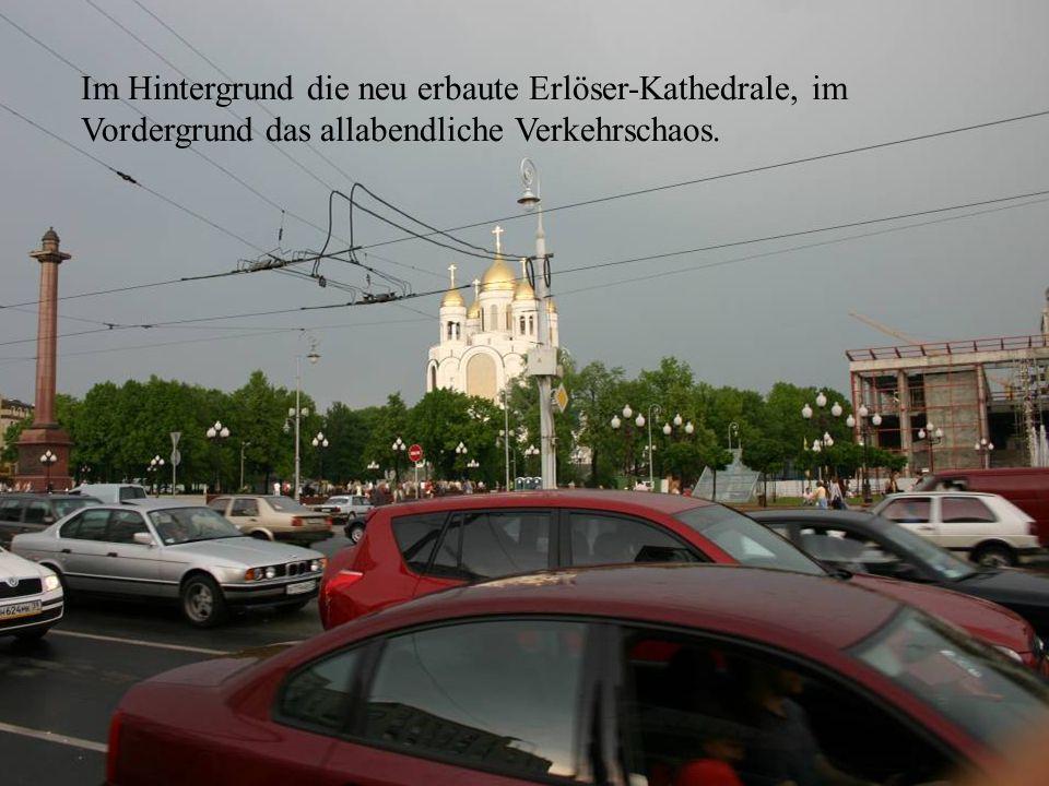 Kathedrale und Verkehr