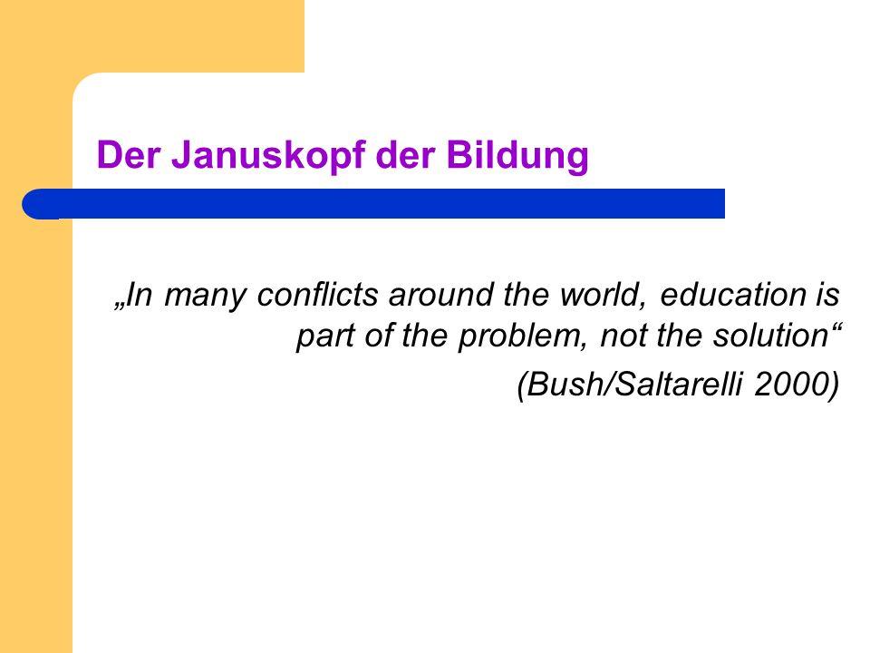 Der Januskopf der Bildung