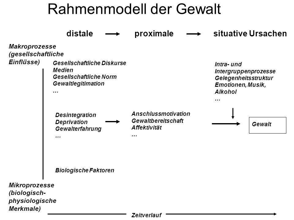 Rahmenmodell der Gewalt