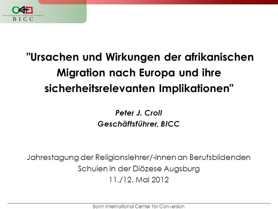 Peter J. Croll Geschäftsführer, BICC