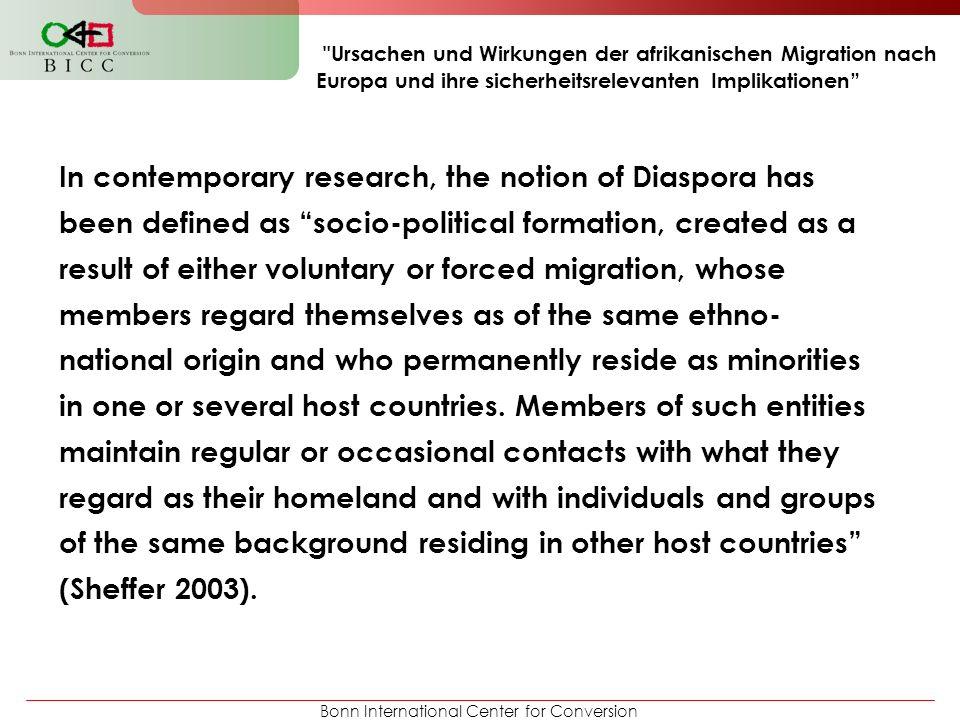 Ursachen und Wirkungen der afrikanischen Migration nach Europa und ihre sicherheitsrelevanten Implikationen