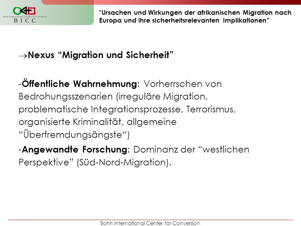 Nexus Migration und Sicherheit