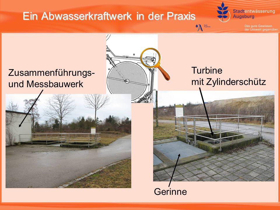 Ein Abwasserkraftwerk in der Praxis