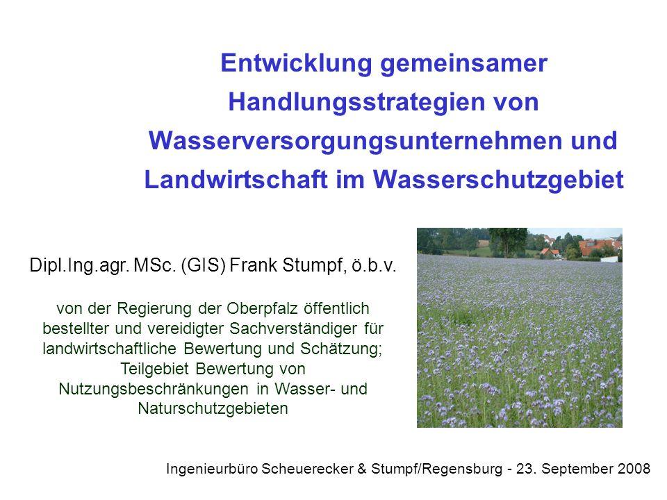 Dipl.Ing.agr. MSc. (GIS) Frank Stumpf, ö.b.v.