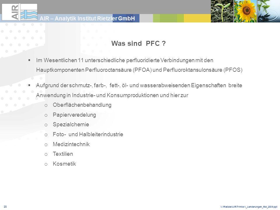 Was sind PFC
