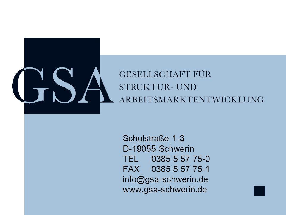 Schulstraße 1-3 D-19055 Schwerin. TEL 0385 5 57 75-0.