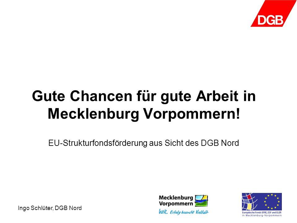 Gute Chancen für gute Arbeit in Mecklenburg Vorpommern