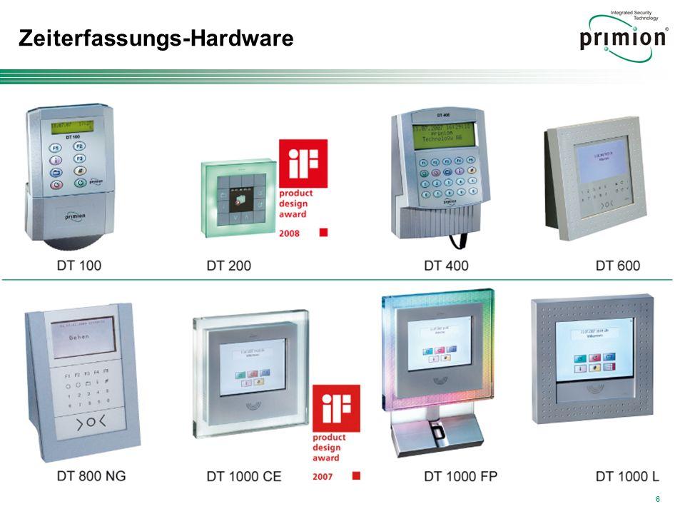 Zeiterfassungs-Hardware