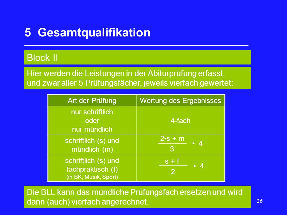 5 Gesamtqualifikation __________________________________