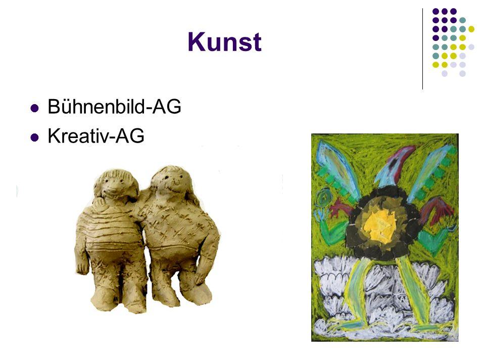 Kunst Bühnenbild-AG Kreativ-AG
