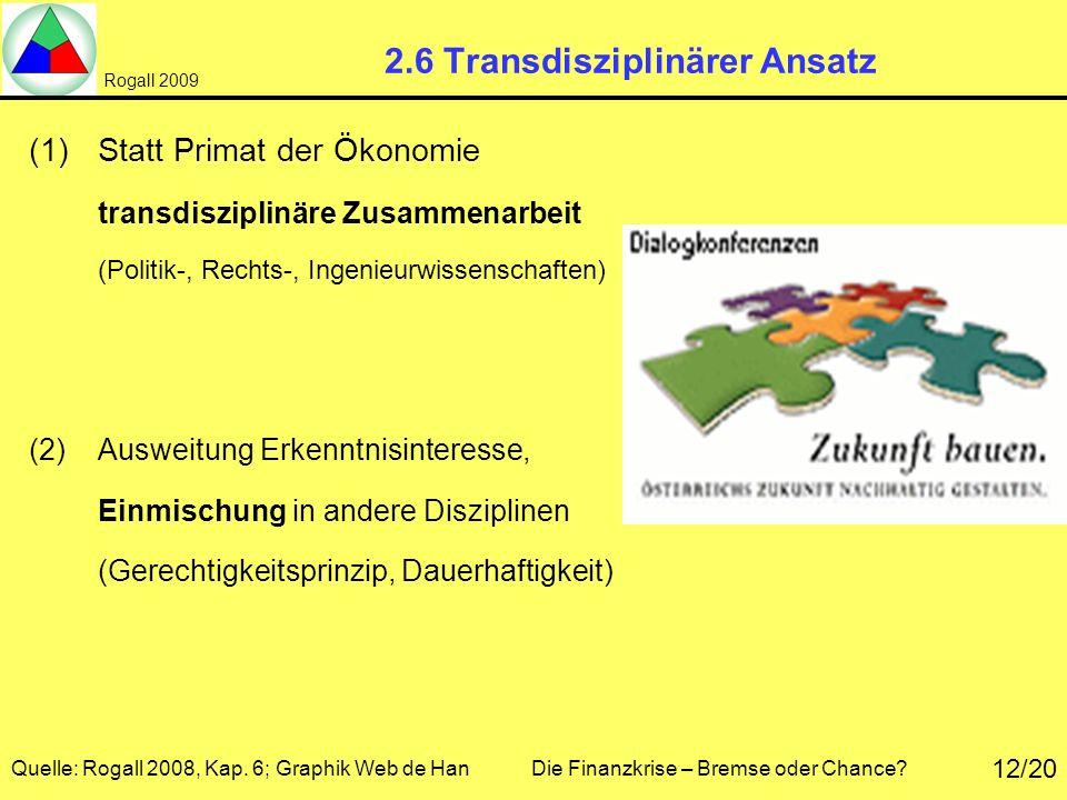 2.6 Transdisziplinärer Ansatz