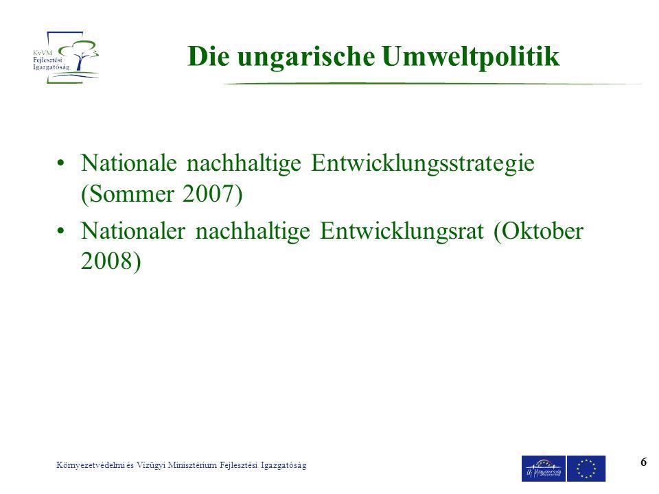 Die ungarische Umweltpolitik