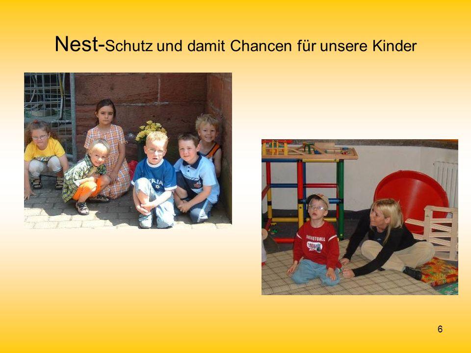Nest-Schutz und damit Chancen für unsere Kinder