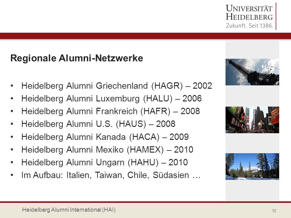 Regionale Alumni-Netzwerke